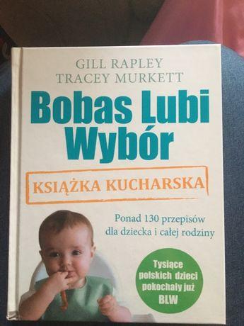 Bobas lubi wybór, ksiażka kucharska