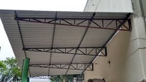 Asnas de estrutura metálica para telhado de armazém