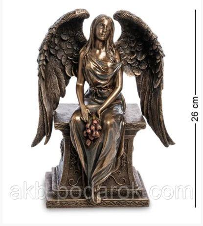 Статуэтка Ангел с розами Veronese WS-946