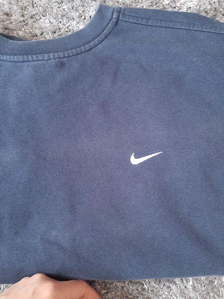 Bluza Nike L  sportowa granatowa