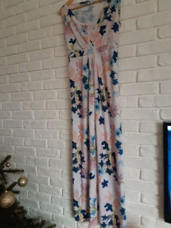 Sukienka ciążowa długa cool mama rozmiar L