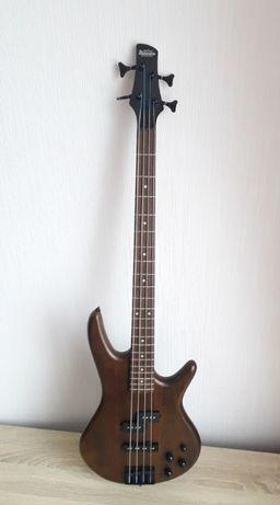 4-х струнный бас Ibanez GSR200B WNF с документами