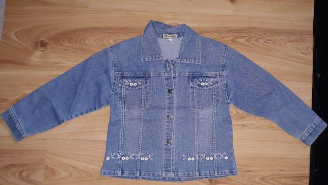 Bluza jeansowa dziewczęca r. 134