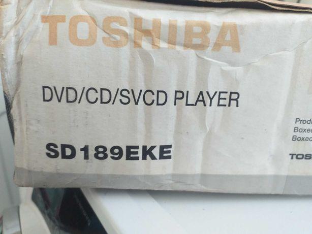 Leitor dvd nunca usado. Em caixa fechada.