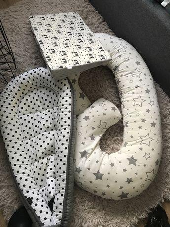 Rogal poduszka pod matwrac łozeczka kokon