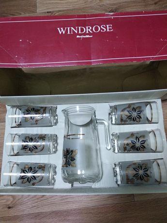 Новый сервиз для сока Windrose-Италия