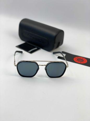 Очки солнцезащитные оправа черные очки солнечные Chrome Hearts g189