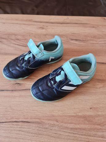 Adidas rozmiar 31 halówki turfy piłkarskie na rzepy non-marking