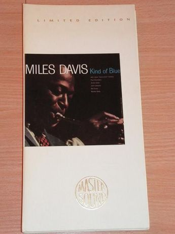 Miles Davis - Kind Of Blue CK-52861 Mastersound longbox 24 karat gold