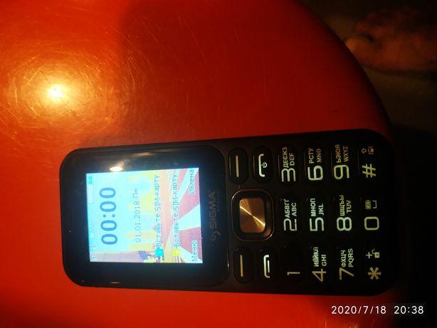 Телефон Sigma в идеальном состояниитна гарантии продам будете довольны