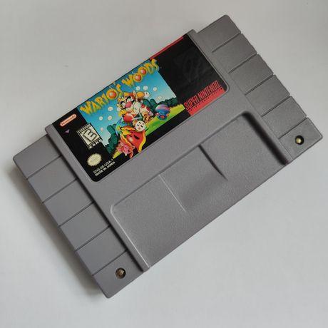 Kartridż Wario's Woods Super Nintendo Gra