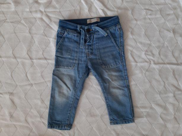 Spodnie jeansowe ZARA roz 80
