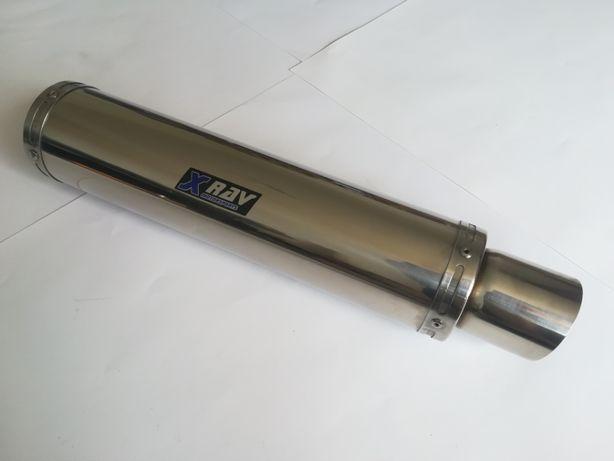XRAV XR18 OKRĄGŁY prosty wydech motocyklowy TŁUMIK GS500 ER5 GSXF CBF