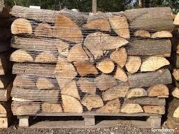 szeroki wybór drewna, kominkowego pociętego