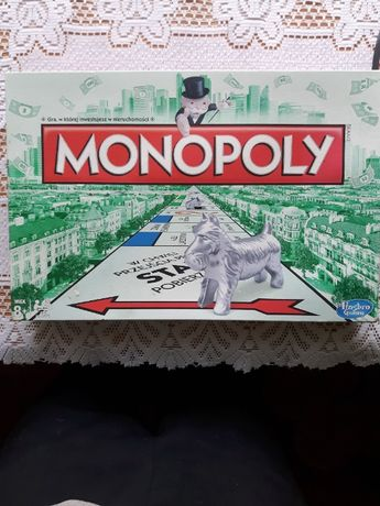 monopol z hasbro gra planszowa starsza wersja