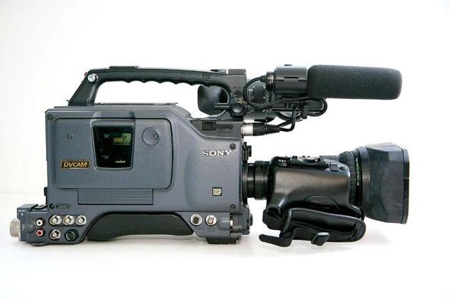 Camera Sony DV CAM DSR 390 P + Objectiva Canon