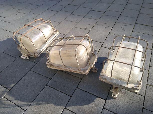 Lampa star PRL loft industrialna