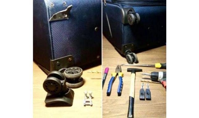 Ремонт сумок, рюкзаков и чемоданов.