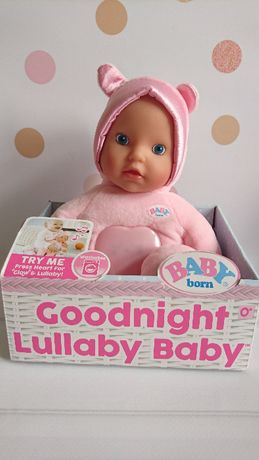 Baby Born Lullaby Goodnight Baby Blue Eyes