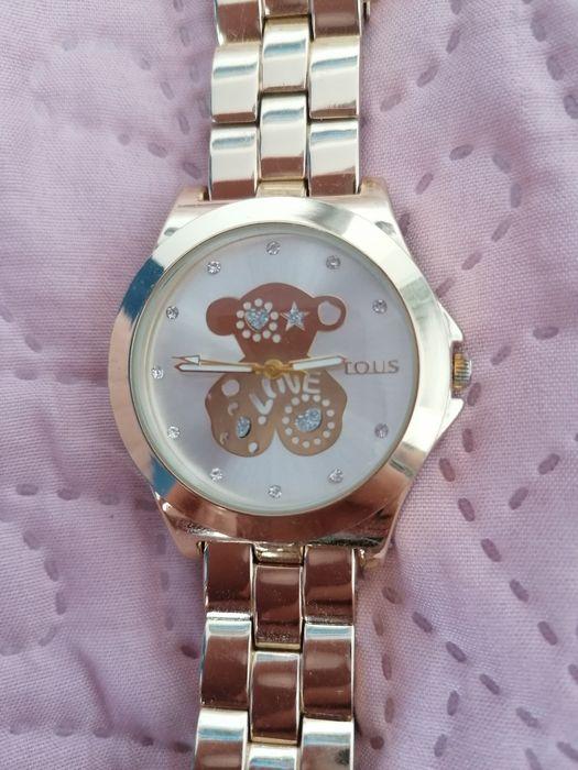 Zegarek z misiem Tin Tours pozłacany Przeworsk - image 1