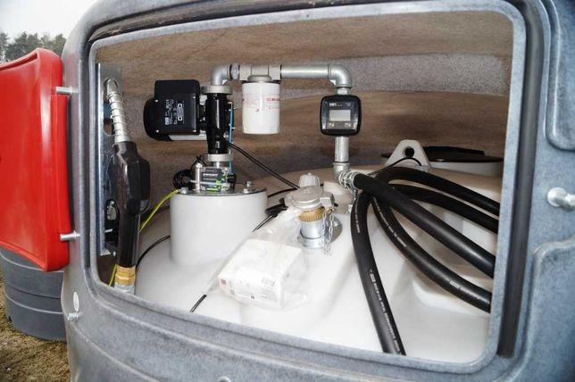 KOLUSZKI Zbiornik na paliwo dwupłaszczowy 5000l ECO-Line SWIMER