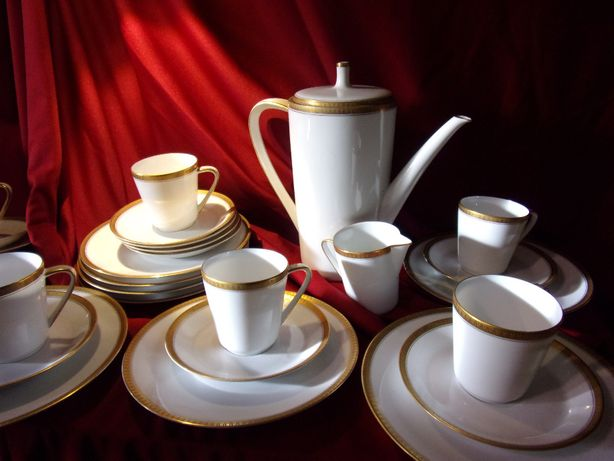 zestaw porcelanowy kawowy Hutschenreuther