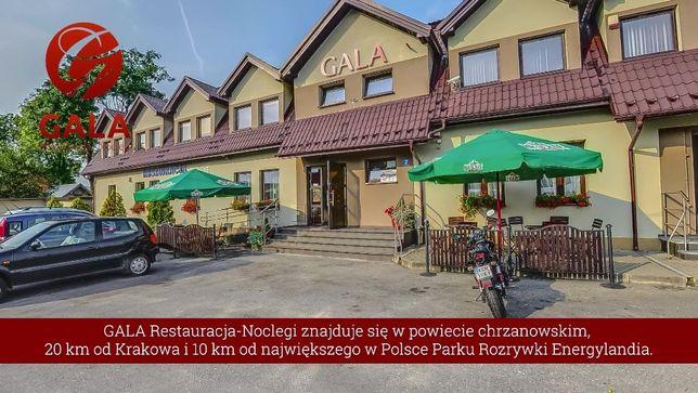 Noclegi GALA : 15 pokoi dla 50 osób +restauracja-Chrzanów-Kwaczała