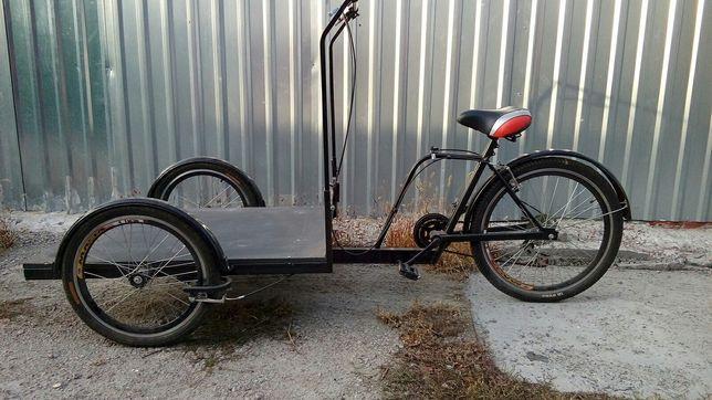 Продам грузовой трехколесный велосипед