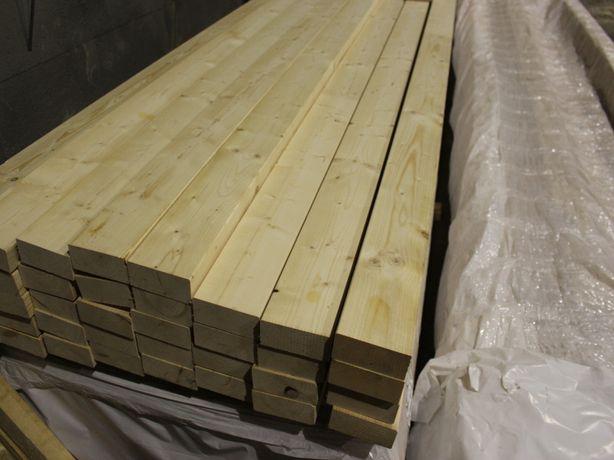 Kantówka 60x120, dł. 6,5m. Heblowana i suszona. Orzesze, Żory, Mikołów