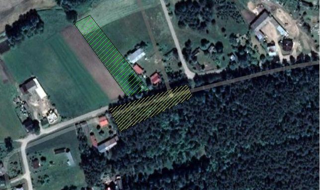 Dom działka budowlana rekreacyjna Godlewo Mierniki