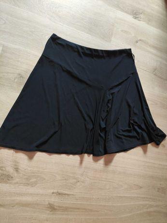 Czarna spódniczka spódnica plus size 46 48