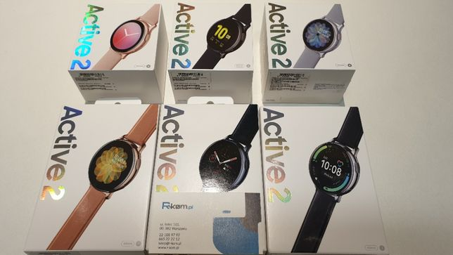 Nowy SAMSUNG GALAXY WATCH ACTIVE 2 R820 44mm Gwar 24m Faktura 23% VAT