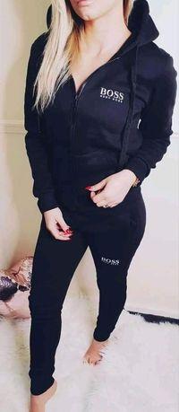 Dres zestaw damski bluza spodnie hugo boss s m l xl xxl
