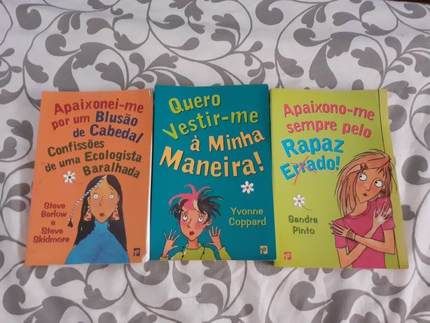 Vendo Conjunto Livros Usados