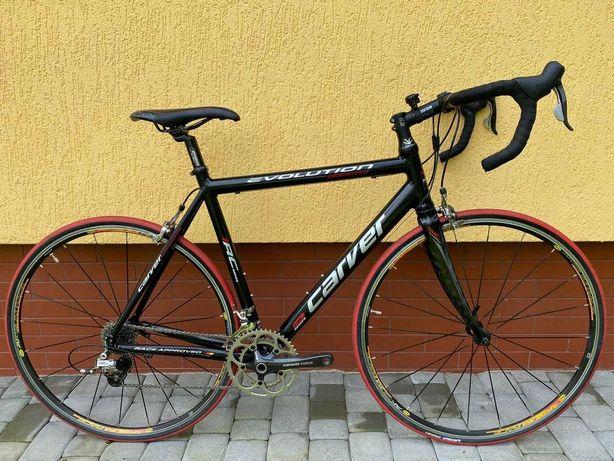 Шоссейный велосипед Carver Evolution RC вилка RC Carbon втулки Mavic