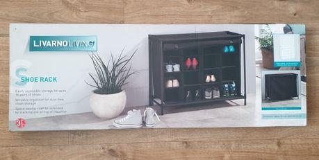 Nowy regał na buty stojak na obuwie na 16 par Livarno szafka komoda