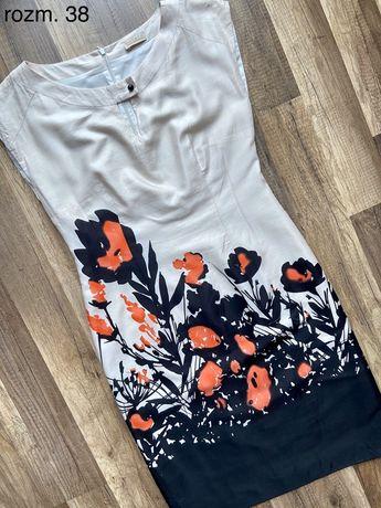 Kolorowa sukienka w rozm. 38 M