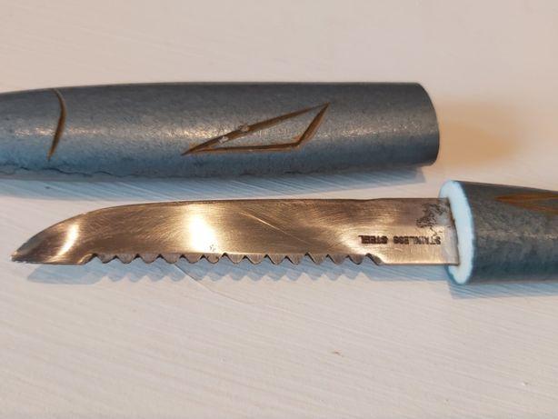 Nóż do ryb, drewniane etui