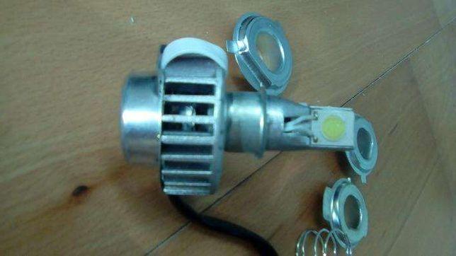Lampada LED mota H4 H3 H7 - 2000lm