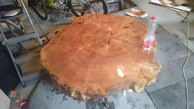 Stół do salonu Ława Blat Monolit