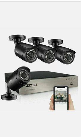 Система видеонаблюдения ZOSI 8CH H.265+ 5MP Lite DVR 1080P