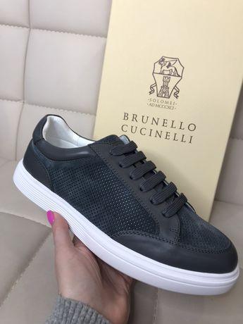 Мужские кеды Brunello Cucinelli