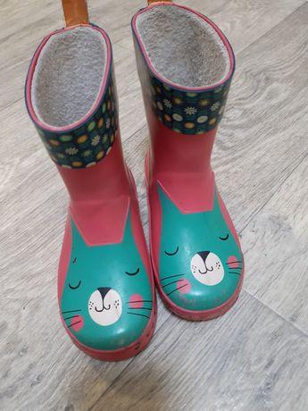 Гумові чобітки на 3-4 р. 16 см (резиновые сапоги)