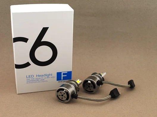 Светодиодные авто лампы лед Led лампы H7, 6500К