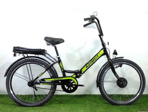 Складаний електровелосипед Azimut 24*2409 li-ion 15A 36V/350W, 2021