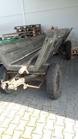 Wóz konny metalowy-ciągnikowy