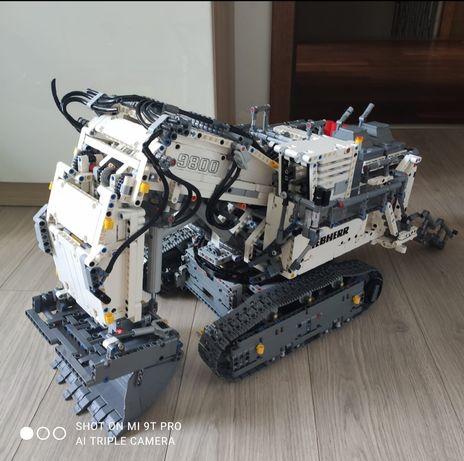 LEGO Technic 42100 Koparka Liebherr R 9800 Excavator