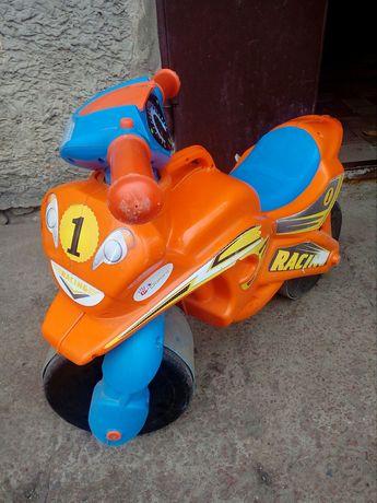 Толокар мотоцикл самокат