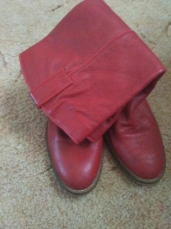 Кожаные сапоги для выступлений