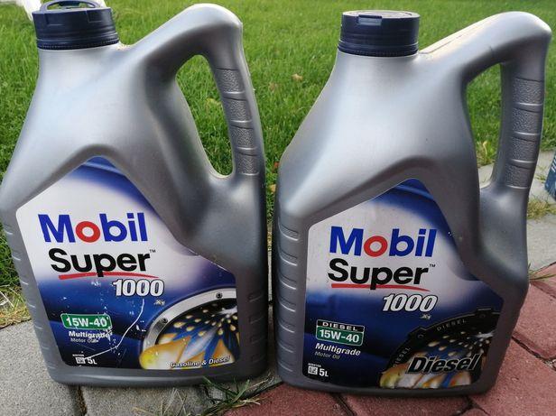 Olej Mobil 15W40 oraz filtry (paliwa, oleju, kabinowy) VW Sharan